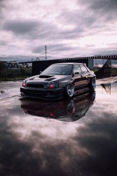 Slammed Cars, Subaru Impreza Sti, Wrx Sti, Subaru Legacy, Tuner Cars, Jdm Cars, Wrx Mods, Cool Car Stickers, E36 Coupe