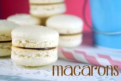 Bake Happy: Easy Macaron Recipe    Matcha with nutella filling would heaven :)