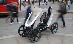 Schaeffler Bio-Hybrid Drives in the Bike Lane Velo Design, Bicycle Design, Electric Tricycle, Electric Cars, Motorized Big Wheel, 4 Wheel Bicycle, Velo Cargo, Bike Leathers, City Car