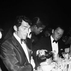 Dean, Sammy, Frank, and Jack Daniels    Yes - don't ever forget Jack