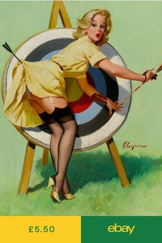 Gil Elvgren Dampened Doll Giclee Art Paper Print Paintings Poster Reproduction