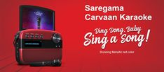 Saregama Carvaan Karaoke comes with two mics with eco control. Tab for more. Karaoke Tracks, Gadget News, Music Station, Display Resolution, Audio Player