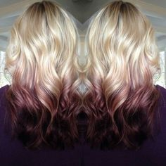 2015 Top 6 Ombre Hair Color Ideas for Blonde Girls Buy & DIY. In recent few seasons, Ombre hair color is no doubt becoming more popular. It obviously has been the Nouveau Chic of many hair designers, frequently seen in fashionREAD Hair Color And Cut, Ombre Hair Color, Blonde Color, Reverse Ombre Hair, Red Blonde, Blonde Women, Blonde Ombre, Love Hair, Gorgeous Hair