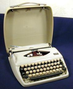 Vintage Adler Tippa 1 typewriter.