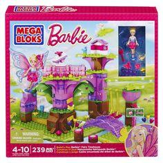 MEGA Bloks Barbie - Build 'n Play Fairy Treehouse
