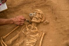 A 3,000-year-old graveyard in Ashkelon, Israel, is being hailed as the first (and only) Philistine cemetery ever found.