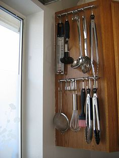 Good idea, but I wonder if it would be noisy when opening/closing the cabinet door.