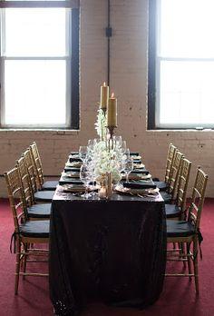 Dulce Dreams Events : Timeless, Elegant Black & Gold Wedding Inspiration www.dulcedreamsevents.com