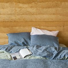 Woven Chambray Bed Linen