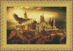 SALE half price cross stitch pattern Hogwarts by xstitchworld