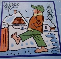 Irena Hufová: Josef Lada a vánoce Children's Book Illustration, Illustrations, Bart Simpson, Printmaking, Childrens Books, Fairy Tales, Folk, The Past, Retro