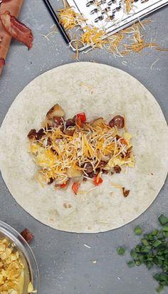Frozen Breakfast Burritos For The Week