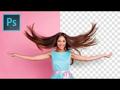 Precisely Cut Out Hair Using Color Range in Photoshop! - YouTube