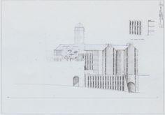 2001-2003 IPOTESI AMPLIAMENTO ARCH.UNIGE IL RADDOPPIO  DEL GARDELLA by Brunetto De Batté