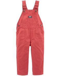 5T Osh Kosh Baby Boys/' Toddler World/'s Best Overalls Red