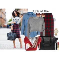Tartan, created by luca155 on Polyvore
