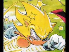 Fleetway Super Sonic | Sonic the Comic Fleetway Super sonic - YouTube