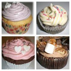 Come see us this weekend! Mormors rabarber, Jojjo Berry-Frutti, Raspberry Fudge & Rocky Road on the menu! #cupcake #fika #linné #göteborg #dessert #yummy #instafood #foodporn #chocolate #gott #uteservering #brunch #lunch