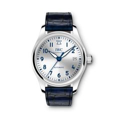 IWC Pilot's Watch Automatic 36 reference - Time Trans.- IWC Pilot's Watch Automatic 36 reference – Time Transformed IWC Pilot's Watch Automatic 36 reference – Time Transformed Swiss Luxury Watches, Luxury Watches For Men, Bulova Mens Watches, Men's Watches, Iwc Pilot, Beautiful Watches, Silver Man, Automatic Watch, Omega Watch