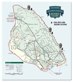 Mackinac Island Trail Maps for Self-Guided Bike Tour