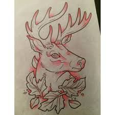 Image result for neo traditional stag