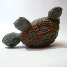 knitted turtles | knit / Knit plush turtle