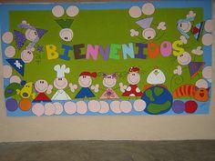 back to school bulletin board ideas Preschool Crafts, Crafts For Kids, Arts And Crafts, School Classroom, Classroom Decor, School Projects, Projects To Try, Purple Day, Back To School Bulletin Boards