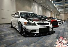 Evo IX With Volker Kit and CCW Wheels