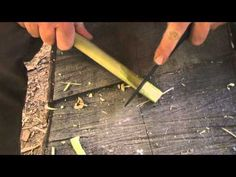 Basic Knife Handling and Bushcraft Notches Part 2 with Dave Canterbury...