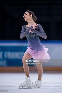 Evgenia Medvedeva of Russia competes during...