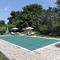Water Warden Mesh Safety Pool Cover for In Ground Pool