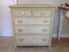 Stunningly elegant up cycled chest. www.facebook.com/BureChic