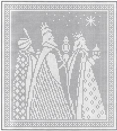 Filet Pattern for Three Kings $2.00
