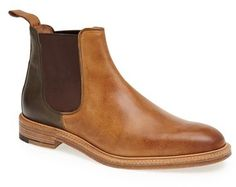 $750, Tan Leather Chelsea Boots: Northern Cobbler Chelsea Boot. Sold by Nordstrom.