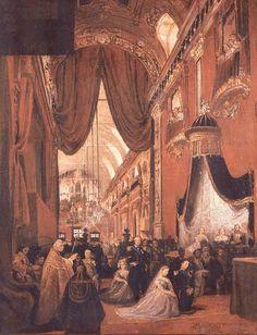 "Estudo para n""O Casamento da Princesa Isabel"". (1864). (by Pedro Américo). Museu Imperial."