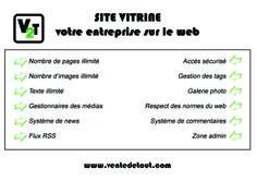 Création de votre site vitrine sur mesure #ventedetout Réalisation graphique : Camille Perin