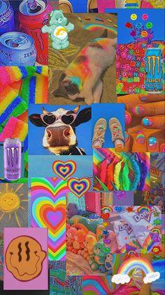 Indie Rainbow aesthetic
