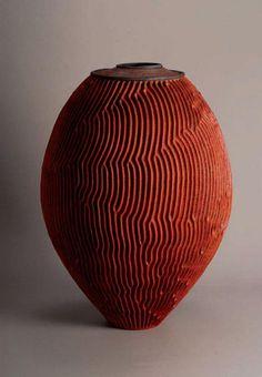 Emmanuel Peccatte ~ Stries 65 cm x 95 cm: http://peccatte-emmanuel.waibe.fr/galerie-1-6-stries-studio-poterie-152.jpg.html