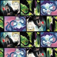 Funky Monkey Fabrics Inc. - Villians Patch Movie Art -1/2 yard, $5.00 (https://funkymonkeyfabrics.com/villians-patch-movie-art-1-2-yard/)