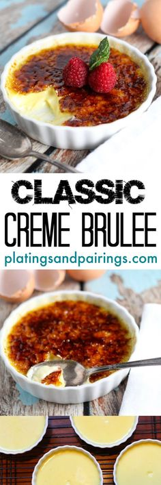 Creme Brulee is the PERFECT make-ahead dessert - Who doesn't LOVE this classic?
