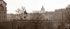 Le Pont Neuf et la statue d'Henri IV, Paris