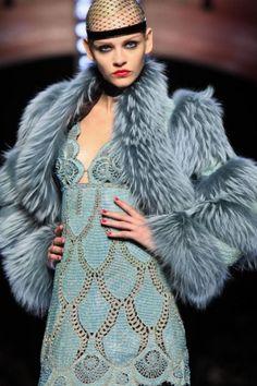 Jean Paul Gaultier Paris Couture via http://nowfashion.com