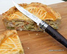 » Tourte au poulet et au citron confit retour de Val d'Isère - La cuisine de Mercotte :: Macarons, Verrines, … et chocolat