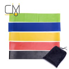 1PCS Super Exercise Resistance Band Fitness Pilates Yoga Rubber Physio Strips