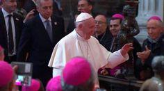 En su homilía del domingo, el papa Francisco habló en Ecatepec sobre tres tentaciones que enfrentan los cristianos