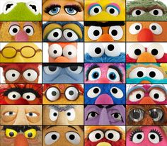 How to make professional puppet eyes. Using plastic spoons, craft foam, ping-pong balls and other common materials, you can make amazing eyes for your puppet. Sock Puppets, Hand Puppets, Finger Puppets, Jim Henson, Les Muppets, Living Puppets, Professional Puppets, Puppet Patterns, Muppet Babies