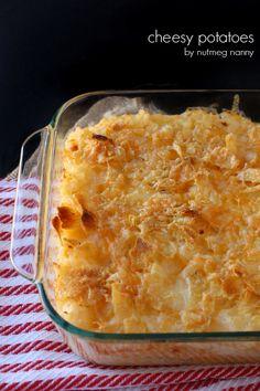 Cheesy Potatoes by Nutmeg Nanny