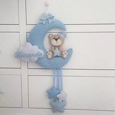 Baby Door Decorations, Elephant Mobile, Softie Pattern, Mamma, Pdf Sewing Patterns, Softies, Handicraft, Smurfs, Giraffe
