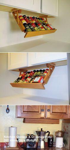10 Modest Kitchen area Organization And DIY Storage Ideas #kitchenstorage #kitchenhacks