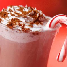 Hot Peppermint Mocha - 1 cup Peppermint Mocha Flavor NESTLÉ COFFEE-MATE Liquid Coffee Creamer, ¾ cup NESTLÉ® TOLL HOUSE® Dark Chocolate Morsels, ½ cup water, ½ teaspoon vanilla extract, Whipped cream (optional)